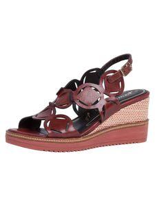 Tamaris Damen Sandalette rot 1-1-28312-24 weit Größe: 38 EU