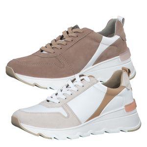 Tamaris Damen Sneaker Halbschuhe 1-23772-26, Größe:39 EU, Farbe:Weiß