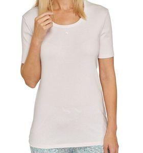 Schiesser  - Damen Schlafshirt Gr. 36 / T-Shirt 1/2 Arm **Rosé**