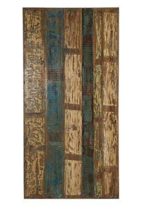 SIT Möbel Tischplatte 120 x 65 cm | Plattenstärke 30 mm | Altholz | B 120 x T 65 x H 3 cm | bunt | 07102-04 | Serie TOPS & TABLES