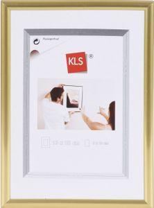 KLS Kunststoff-Bilderrahmen 60x80 cm gold Serie 42