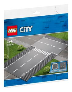 LEGO® City Gerade und T-Kreuzung, 60236