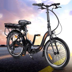 FAFREES 250W 36V 10AH Faltbares Ebike E-Bike Mountainbike Citybike 25km/h Trekkingrad Elektrofahrrad Elektrofahrräder