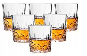 Whiskygläser Set 6tlg Kristallglas 230 ml