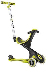Scooter Kinderroller Dreirad Laufrad Globber Evo Comfort 5in1 grün