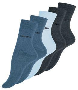 VCA® Baumwoll-Socken 10 Paar 35-38