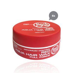 RedOne Red Aqua Wax Full Force 6 x 150 ml
