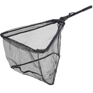 Angelkescher Faltbar Fischkescher Tragbar Zusammenklappbar Dreieckig Fliegen Angeln Netz Fisch Fangen Oder Loslassen