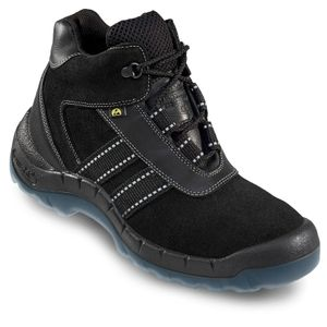 OTTER 93653 ESD Sicherheitsstiefel Sicherheitsschuhe Arbeitsschuhe Hoch Stiefel, Größe:38