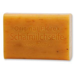 4x Florex Schafmilchseife Ringelblume 100 g Stück Seife Naturseife Schafmilch