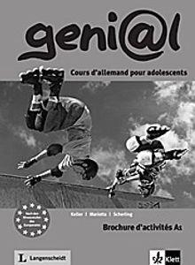 geni@l A1 Brochure d' activités, mit Audio-CD