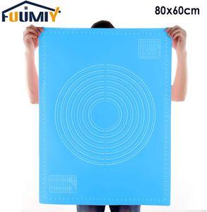 Silikonmatte Backen Übergroß 80x60cm Silikon backmatte mitskala