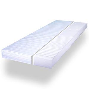Matratze Komfortschaum 7 Zonen Komfort Pur Wellness - 7 Zonen + Größe nach Wahl, Größe:140 x 200 cm, Härtegrad:Mittel (H2)