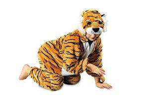 K332552/T2882/T2903-116-128 Tiger Kostüm Overall Gr.116-128