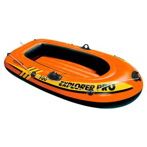 Intex Explorer Pro Boat 100 Orange 160 x 94 x 29 cm