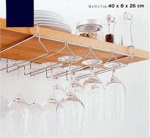 Gläserhalter Hänge Sektglashalter Gläserschiene für 12 Stielgläser 40 cm Tchibo