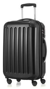 HAUPTSTADTKOFFER - Alex - Handgepäck Hartschalenkoffer Kabinen Gepäck für jede Airline, 4 Rollen, Erweiterbar, 55 cm, 42 Liter