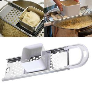 Edelstahl Kartoffel Gnocchi Reibe / Spätzle Maker Home Kitchen Tools