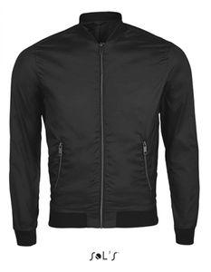 Herren Roscoe Jacket - Pongee 300T, 100% Polyester - Farbe: Black - Größe: XL