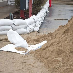 25 Stk. Sandsack Sandsäcke Hochwassersäcke Gewebesäcke PP 35 x 50 cm weiss