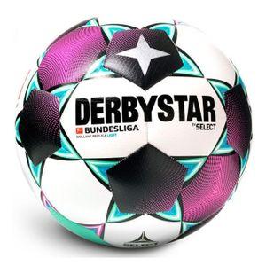 DERBYSTAR Fußball Brillant Replica Light Lila / Türkis / Weiß 5