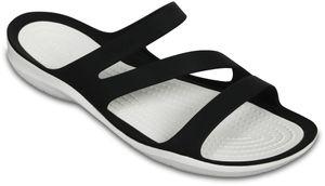 CROCS Swiftwater Sandal W Black/White 5