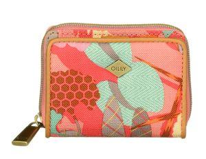 Oilily Botanic Pop XS Wallet Pink Flamingo