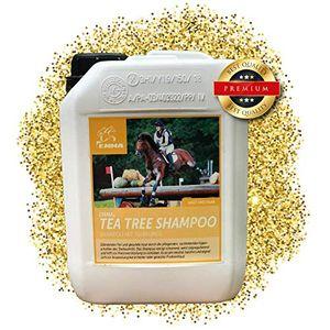 EMMA Pferdeshampoo, Spar-Set I Shampoo für Pferde & Hunde mit Teebaum-Öl I ph-neutral & mild I empfindlicher, trockener, juckender, schuppiger & schorfige Haut I Ekzem I Juckreiz & Schuppen, 2500 ml ()