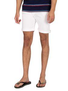 Pepe Jeans Herren Cane Denim Slim Shorts, Weiß 32W