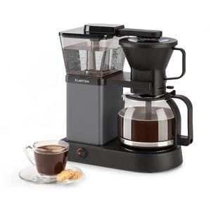 Klarstein GrandeGusto Kaffeemaschine mit Kaffeekanne - Filter-Kaffeemaschine, Kaffeeautomat, 1690 Watt, 1,3 Liter Wassertank, bis 10 Tassen, 96°C Brühtemperatur, Warmhaltefunktion, schwarz