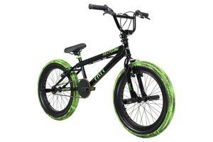 BMX Freestyle 20'' Fatt schwarz-grün KS Cycling 674B