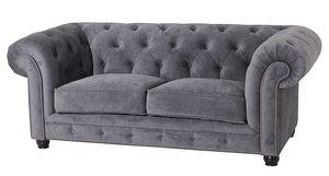 Max Winzer Orleans Sofa 2-Sitzer - Farbe: grau - Maße: 196 cm x 100 cm x 77 cm; 2911-2100-2044116-F07