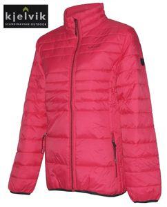 Kjelvik Damen Steppjacke Damenjacke Frühling Herbst Jacke Übergang Übergröße, Größe:42