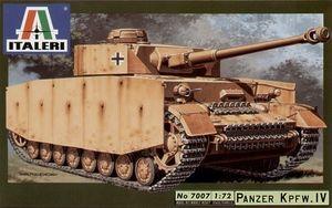Italeri Panzer Kpfw. IV, 1:72, Montagesatz, Aufklärungsfahrzeug, Panzer Kpfw. IV, Beide Geschlechter, Kunststoff