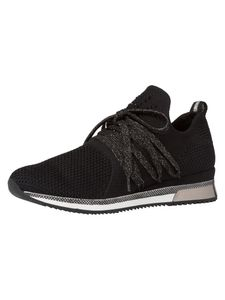 Marco Tozzi Damen Sneaker schwarz 2-2-23738-35 F-Weite Größe: 38 EU