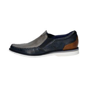 bugatti Herren Slipper BERENGAR 311-71360-4141-1540 grey / blue, Herren Größen:46, Farben:grau
