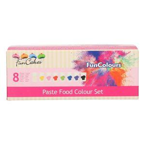 FunCakes FunColours Pastenfarben Set 8-teilig 8 x 30 g