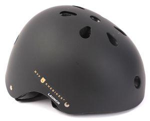 KHE MVP LAUNCH BMX Freestyle Helm matt schwarz M