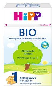 HiPP 1 von Geburt an, DE-ÖKO-037 - VE 600g