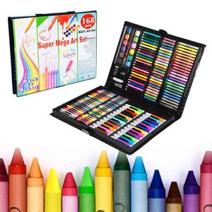 LARS360 168 teilig Buntstifte Set Malsets Kinder Farbstifte Malset Zeichenset Buntstifte Set Zeichnung Werkzeug