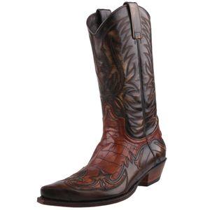 Sendra Westernstiefel 3241 Braun, Schuhgröße:EUR 46