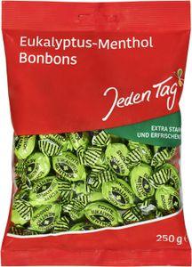 Jeden Tag Eukalyptus-Menthol Bonbons (250 g)