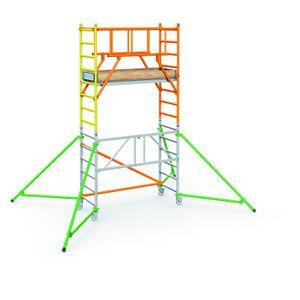 ZARGES PaxTower S-PLUS 1T Klappgerüst Arbeitshöhe 4,55 m