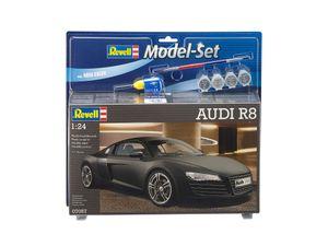 Revell Model Set AUDI R8 - Auto-Modellbausatz; 67057