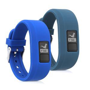 2x Armband kompatibel mit Garmin Vivofit jr. / jr. 2