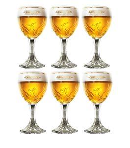 Grimbergen Biergläser auf Fuß 330 ml - 6 Stück