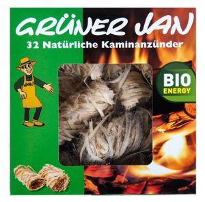 32 Öko Kaminanzünder Grillanzünder Holzanzünder Kohleanzünder Wachs Holzwolle