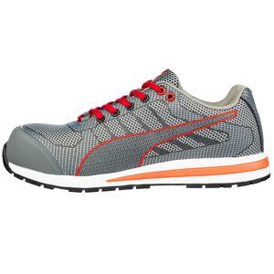 Puma Xelerate Knit Low S1P 643070, Farbe:grau, Schuhgröße:41 (UK 7)