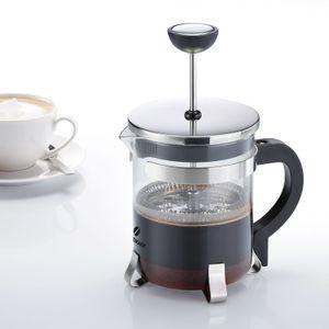 Westmark Kaffeebereiter French Press, 500 ml, Glas/Rostfreier Edelstahl, Brasilia, Silber/Schwarz, 24702260