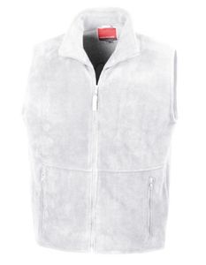 Active Fleece Bodywarmer - Farbe: White - Größe: XXL